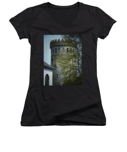 The Keep At Nenagh Castle Ireland Women's V-Neck