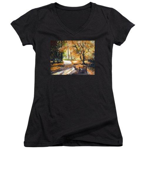 The Letter Women's V-Neck T-Shirt