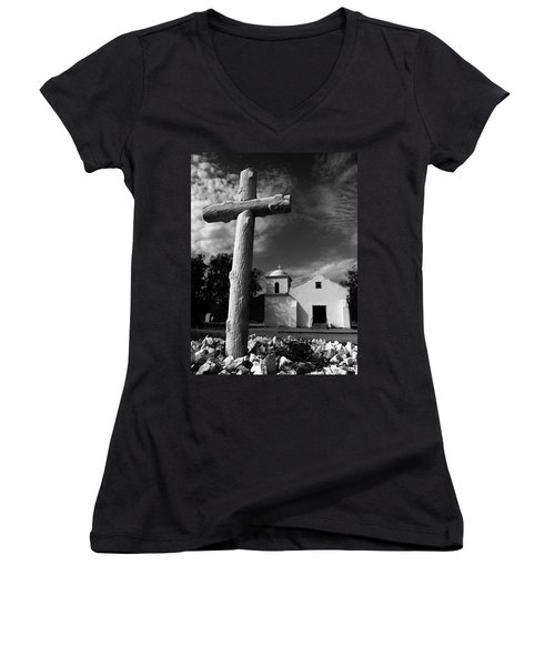 The Light Of The World Women's V-Neck (Athletic Fit)