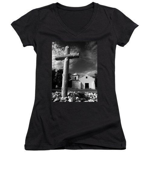 The Light Of The World Women's V-Neck T-Shirt