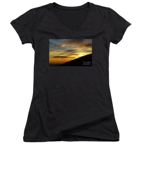 The Loud Music Of The Sky Women's V-Neck T-Shirt