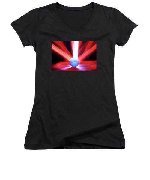 The Lust Women's V-Neck T-Shirt (Junior Cut) by Andrew Nourse