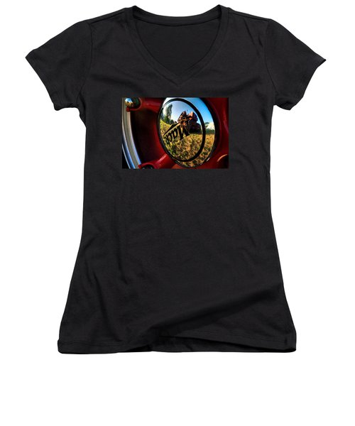 The Mack Truck Women's V-Neck T-Shirt