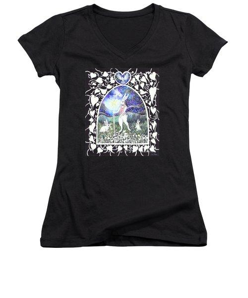 The Magician Women's V-Neck T-Shirt