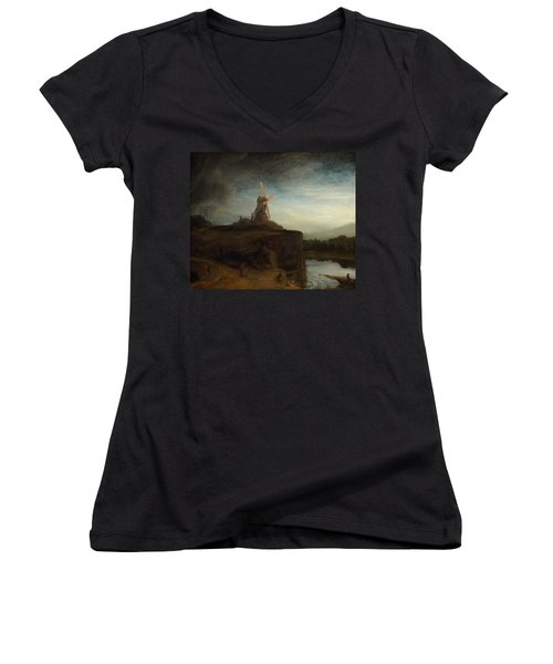 The Mill Women's V-Neck (Athletic Fit)