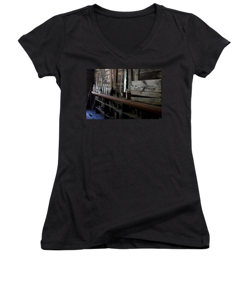 The Mishawaka Woolen Bar Women's V-Neck