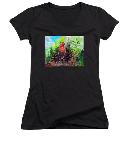 The Most Romantic Birds Women's V-Neck T-Shirt