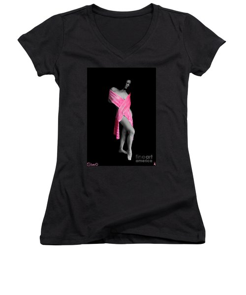 The Naked Truth It Can Happen To You Too Women's V-Neck (Athletic Fit)