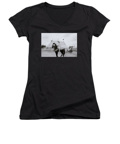 The Noble Man Women's V-Neck T-Shirt