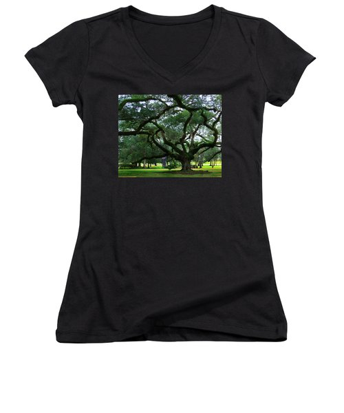 The Old Oak Women's V-Neck T-Shirt