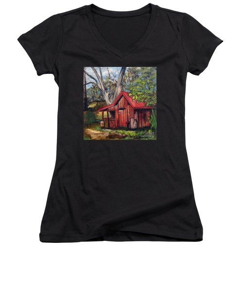 The Old Pig Barn Women's V-Neck