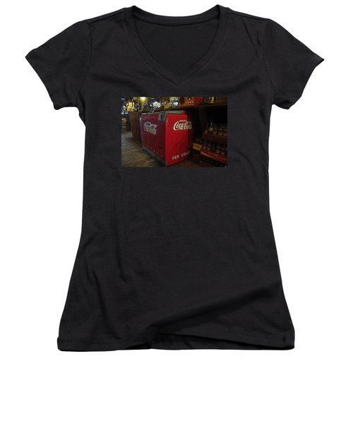 The Old Store Women's V-Neck T-Shirt