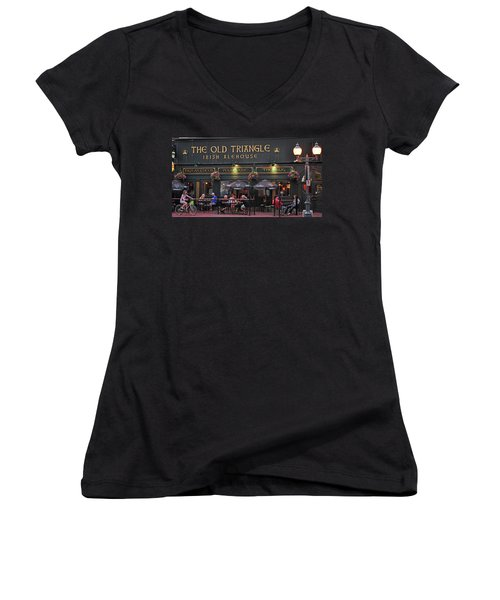 The Old Triangle Alehouse Women's V-Neck T-Shirt
