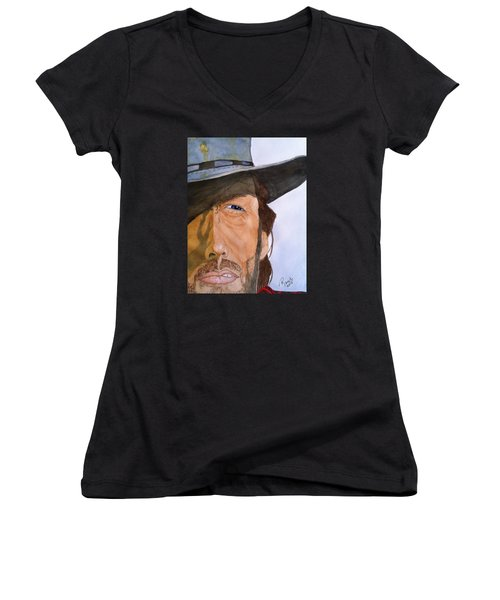 The Outlaw Josey Wales Women's V-Neck (Athletic Fit)