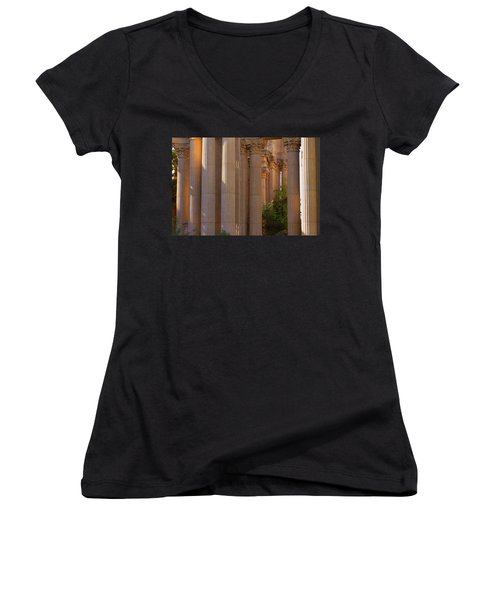 The Palace Columns Women's V-Neck (Athletic Fit)