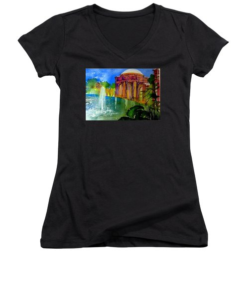 The Palace  In Miniature Women's V-Neck T-Shirt