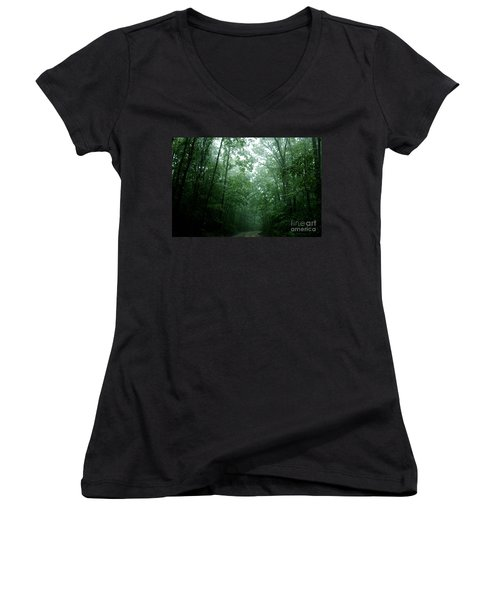 The Path Ahead Women's V-Neck