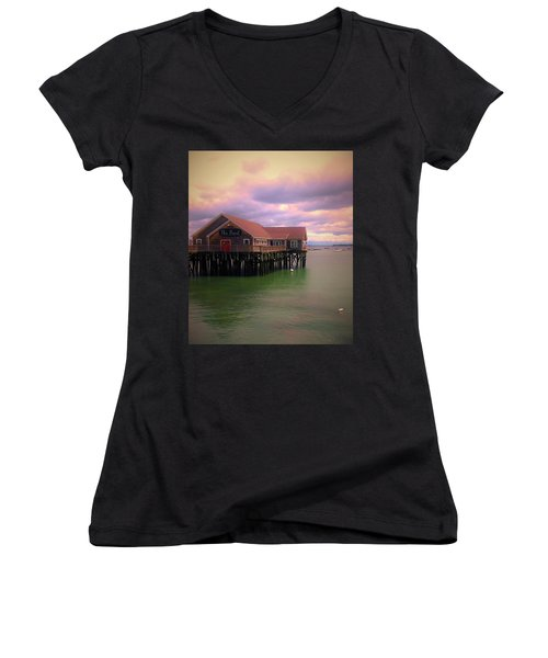 the Pearl Women's V-Neck (Athletic Fit)