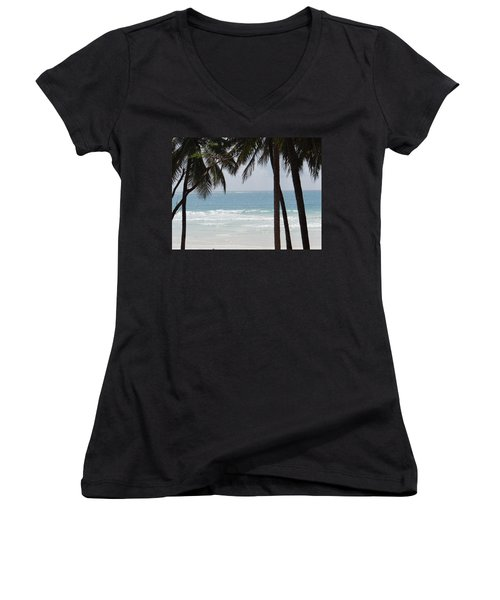 The Perfect Beach Women's V-Neck (Athletic Fit)