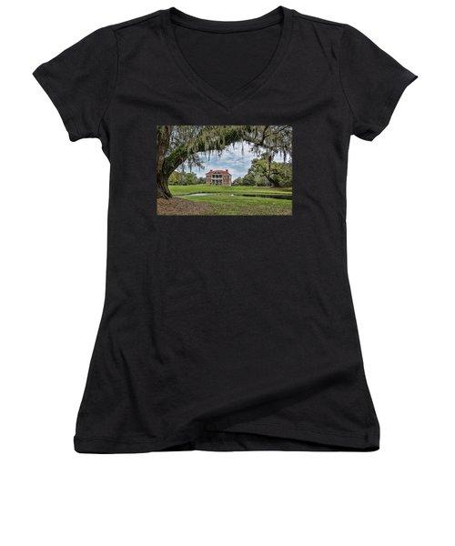 The Plantation Women's V-Neck T-Shirt