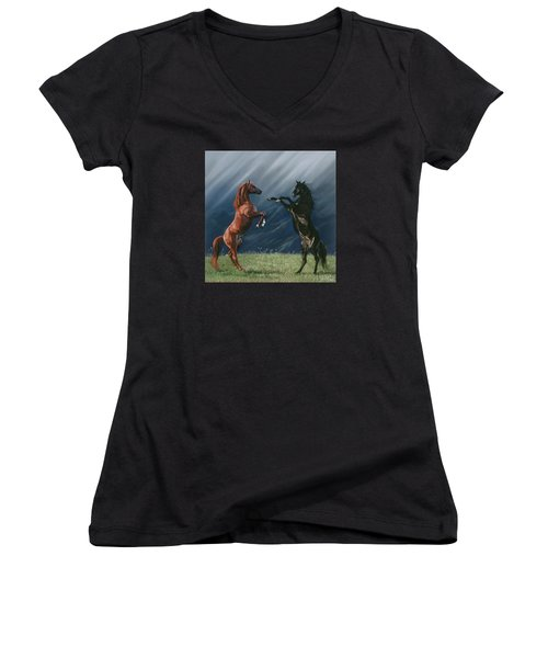 The Pledge Women's V-Neck (Athletic Fit)