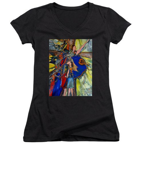 The Power Of Forgiveness Women's V-Neck (Athletic Fit)