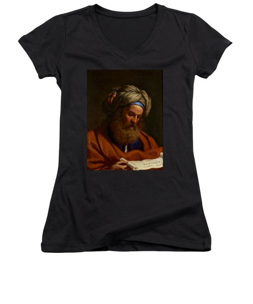 The Prophet Isaiah Women's V-Neck