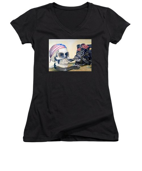 The Rider Women's V-Neck