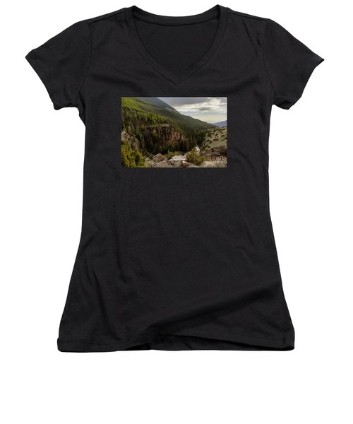 The River Below Women's V-Neck T-Shirt