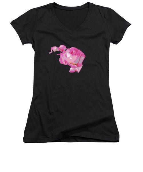 The Rose 1 Women's V-Neck T-Shirt