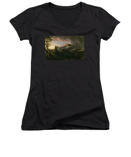 The Savage State Women's V-Neck (Athletic Fit)