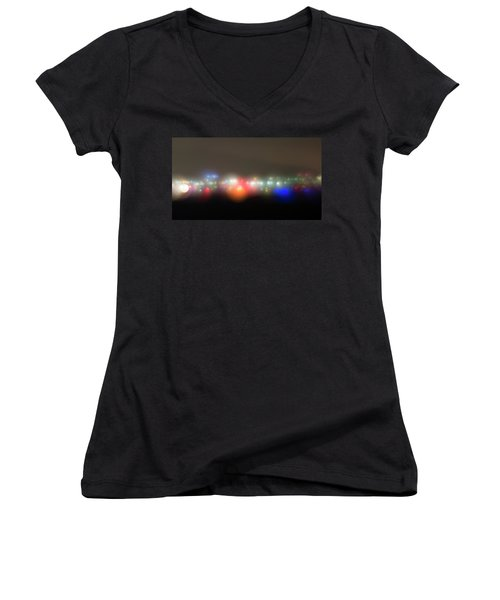 The Seeds Of Starbase 4 Women's V-Neck (Athletic Fit)