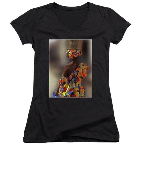 The Shoulder Of Africa Women's V-Neck