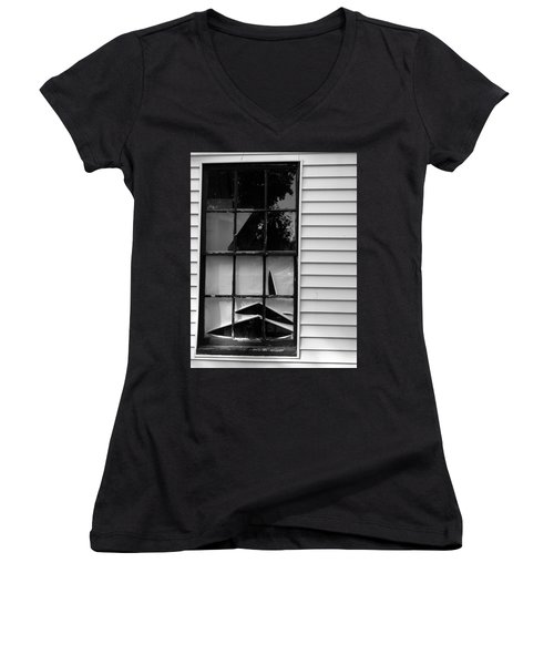 The Shredded Shade Women's V-Neck