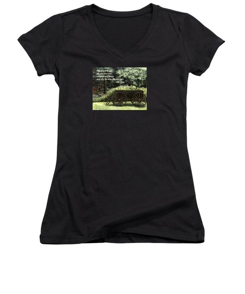 The Simple Things Women's V-Neck
