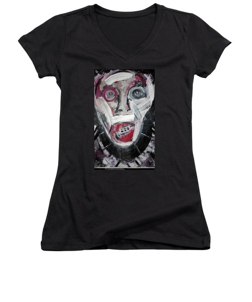 The Sinner Women's V-Neck (Athletic Fit)