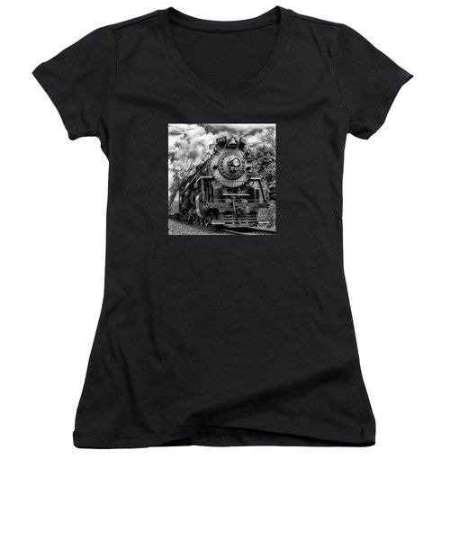 The Steam Age  Women's V-Neck