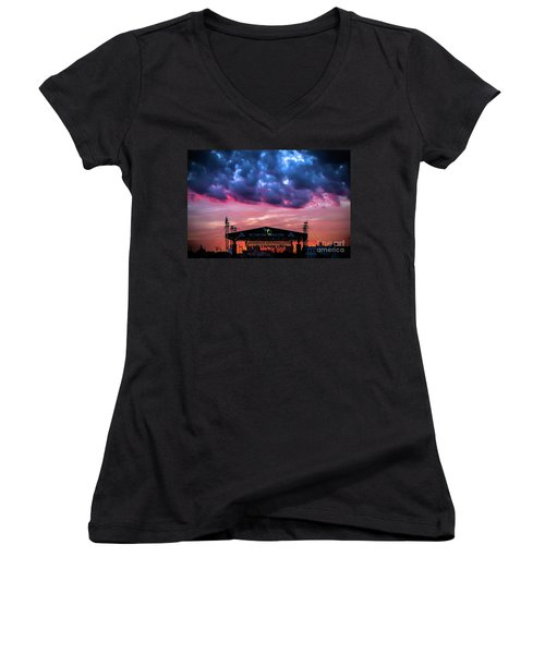 The Stone Pony Summer Stage Women's V-Neck T-Shirt