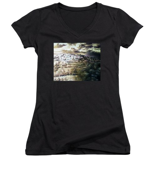 The Storm Women's V-Neck (Athletic Fit)
