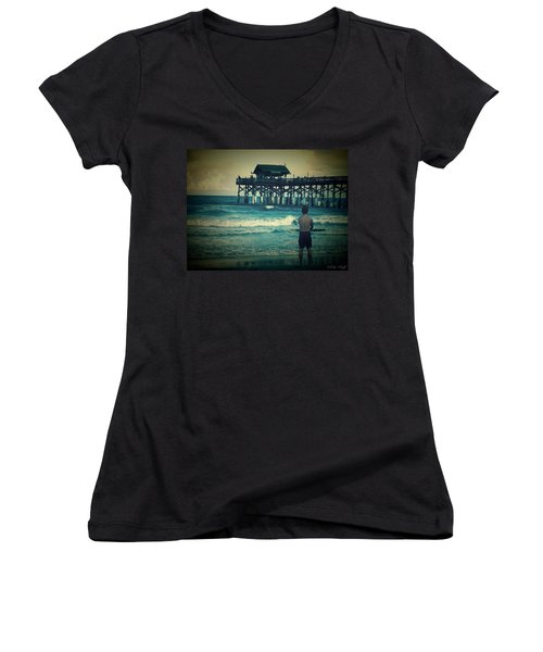 The Surfer Women's V-Neck (Athletic Fit)