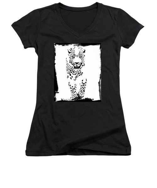 The Three Musketeers - Leopard Women's V-Neck