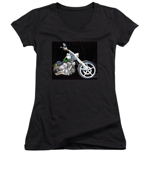 The True Love Of His Life Women's V-Neck T-Shirt (Junior Cut) by Blair Stuart