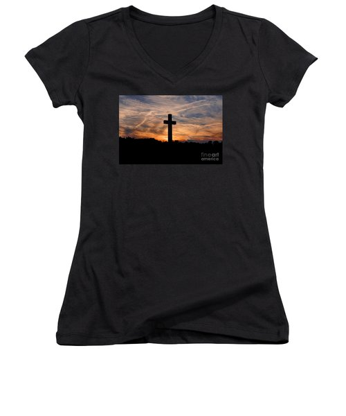 The Ultimate Sacrifice Women's V-Neck T-Shirt