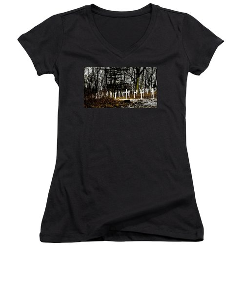 The Unknown Women's V-Neck T-Shirt