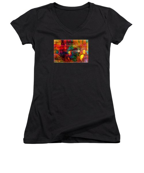 The Visitors Women's V-Neck (Athletic Fit)