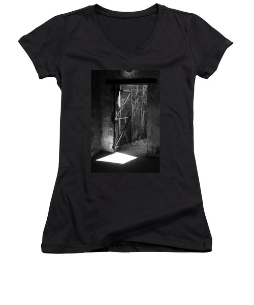 The Weathered Wall Women's V-Neck T-Shirt