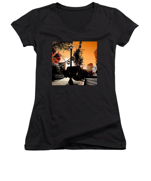 The Wheel 2  Women's V-Neck