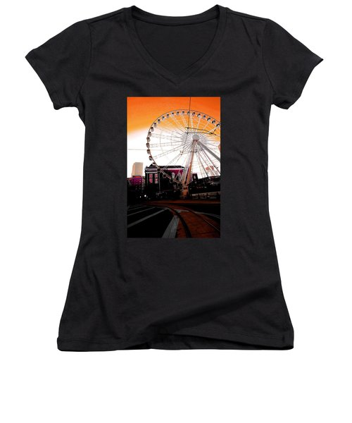 The Wheel  Women's V-Neck