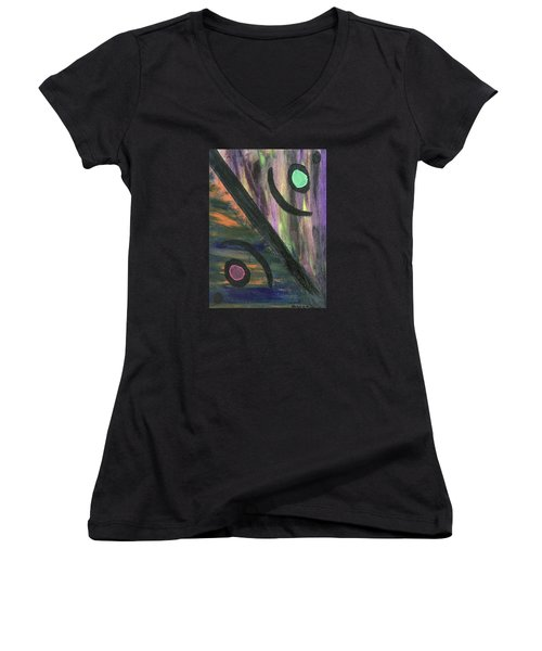 Therapist's Office Women's V-Neck