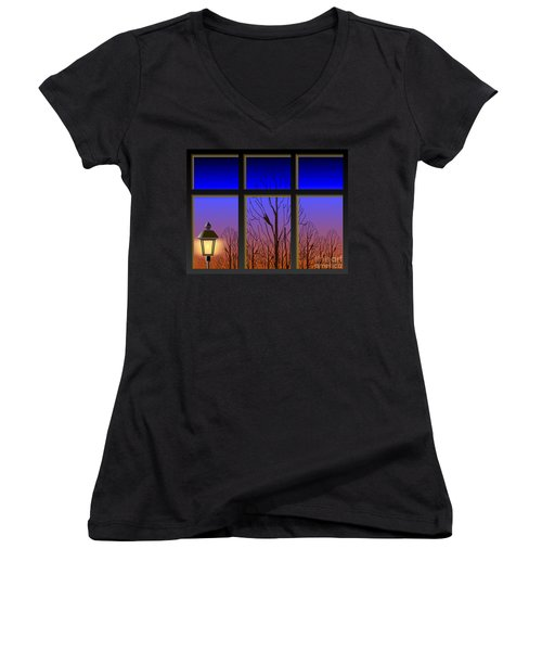 The Window II Women's V-Neck (Athletic Fit)